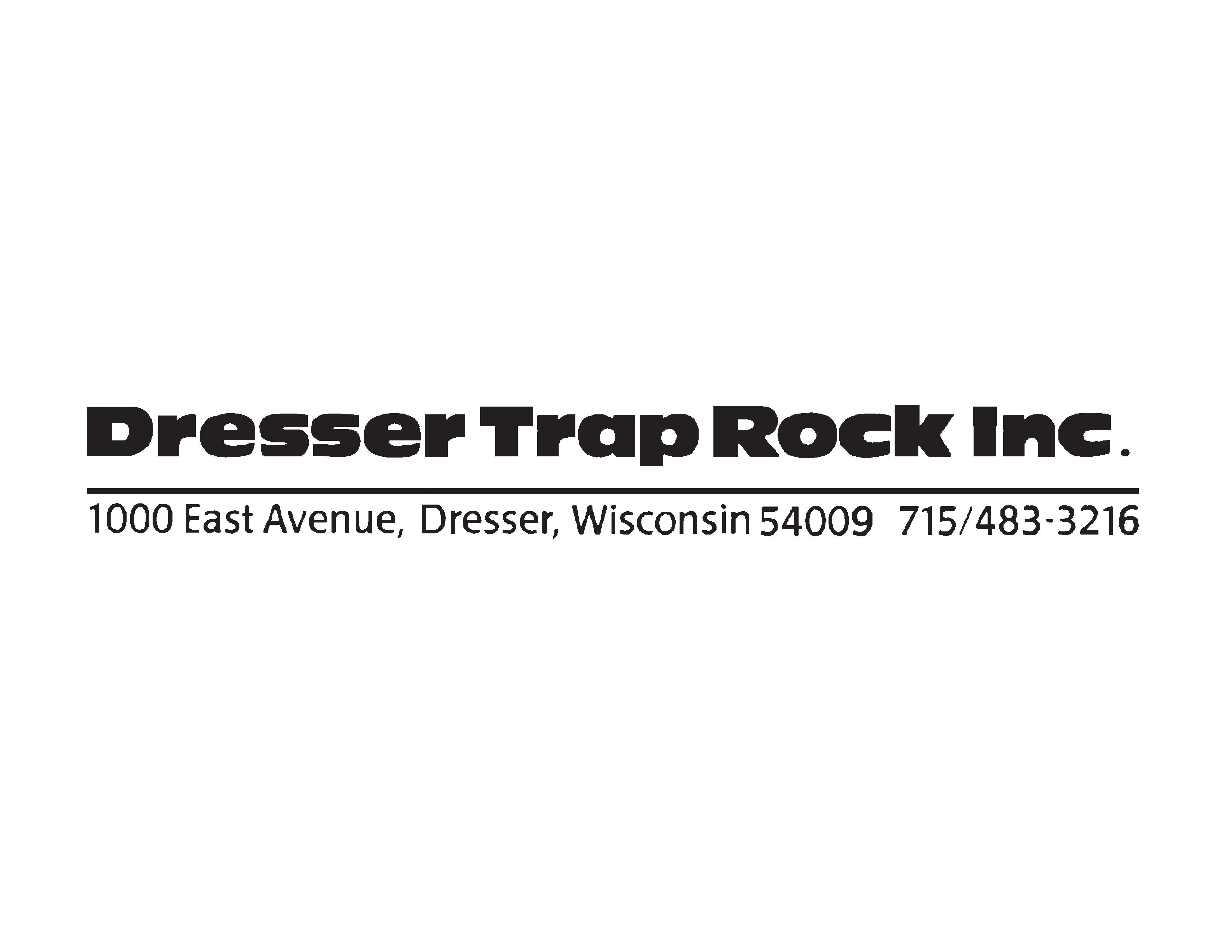 Dresser Trap Rock logo